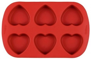 Heart-Shaped Soap Molds