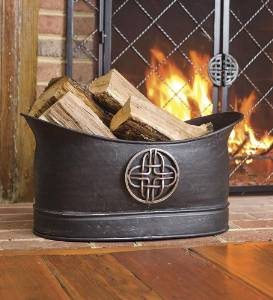 Celtic Oval Hearth Bin