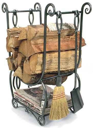 Minuteman Country Wood Holder With Tools