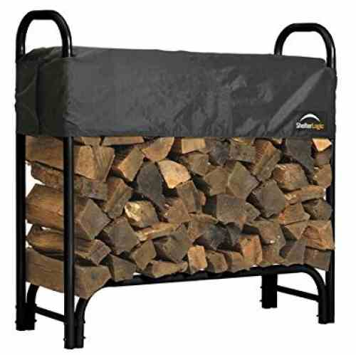 Shelter Logic Firewood Rack