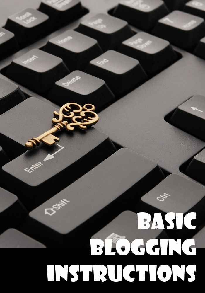 Basic Blogging Instructions at http://bennachti.com