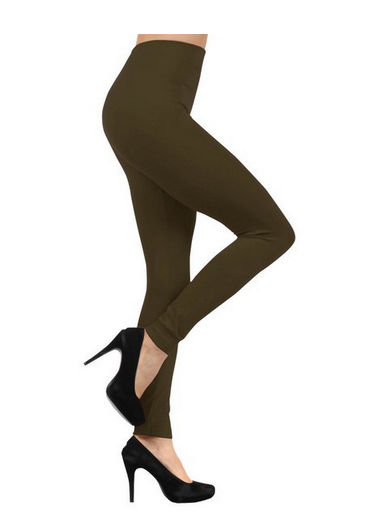 Coffee mocha fashion fleece leggings - from Avady Fashions - seen at http://bennachti.com/mocha-coffee-fashion