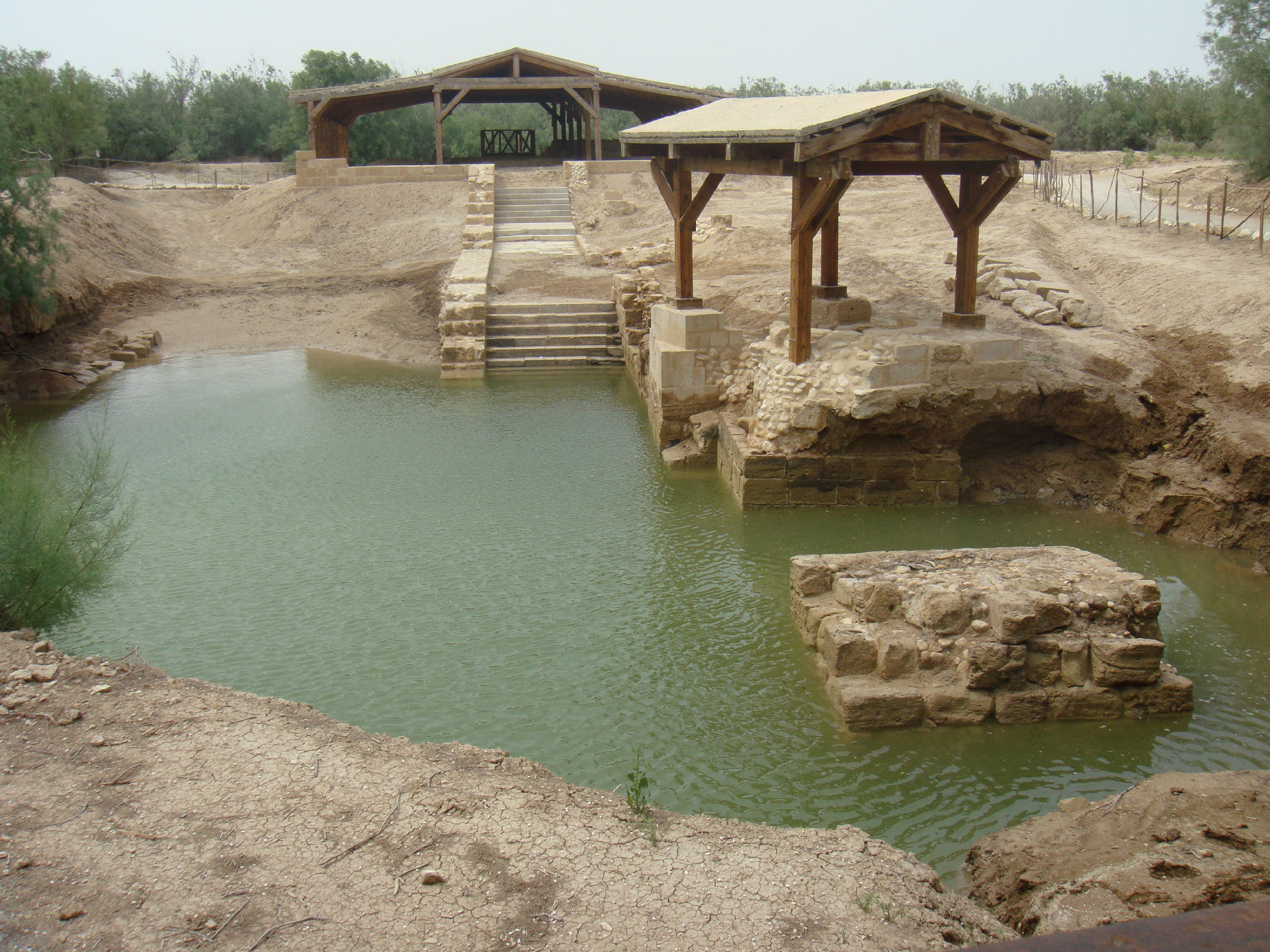 Baptism of Jesus site, Bethany Beyond the Jordan